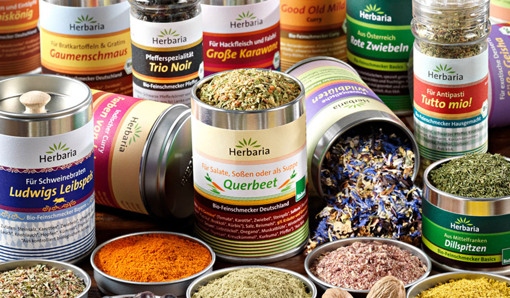 Sugar & salt in our Organic Gourmet seasonings