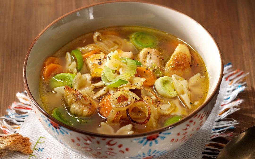 Schnelle Wunderhuhn Suppe