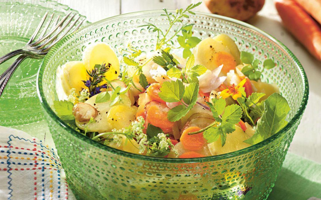 """Wilder Kartoffelsalat mit """"Querbeet"""""""