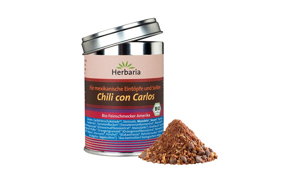 Chili con Carne Gewürzmischung Bio Herbaria