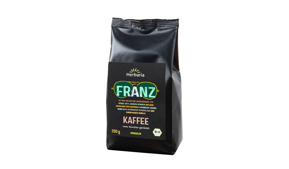 Franz Kaffee Gemahlen