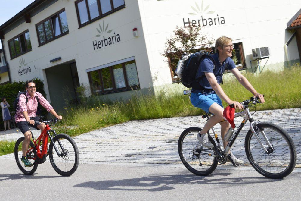 Zweimal Edelmetall für Team Herbaria-Salus beim Stadtradel-Wettbewerb 2021