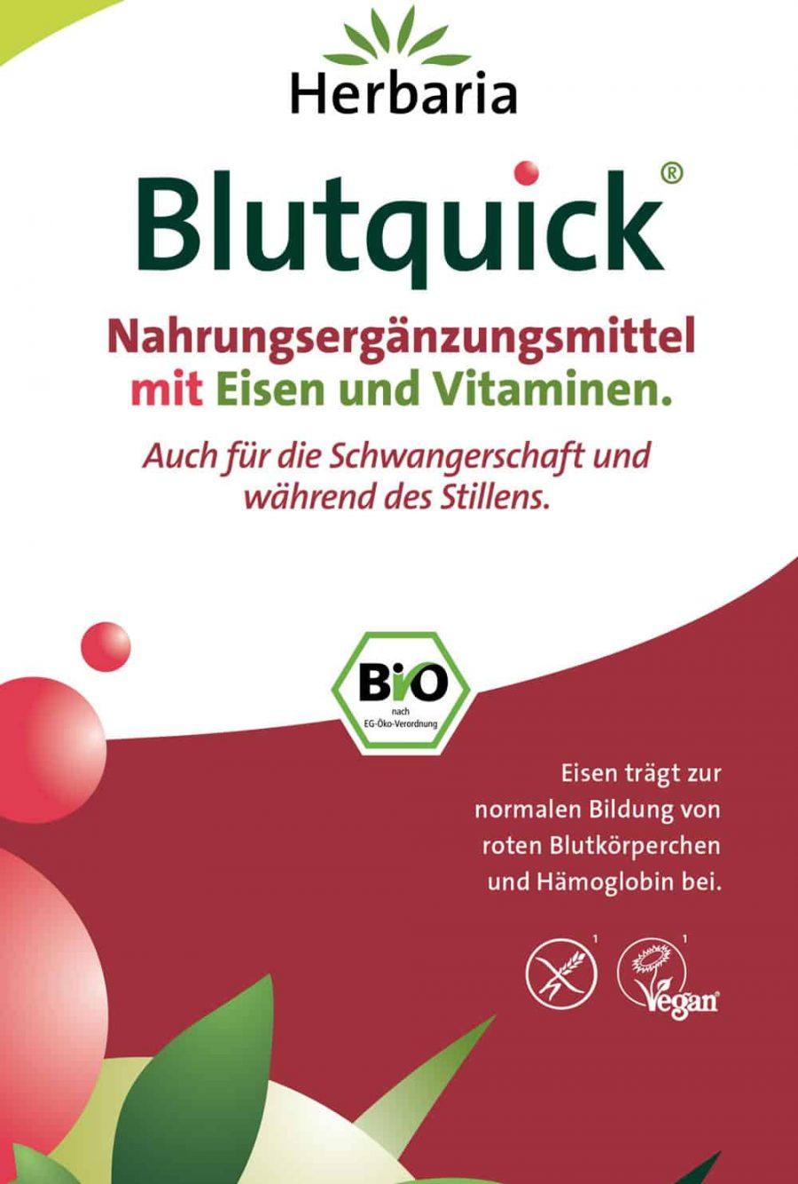 Broschüre Blutquick